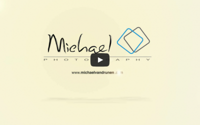 Michael Photography logo video intro